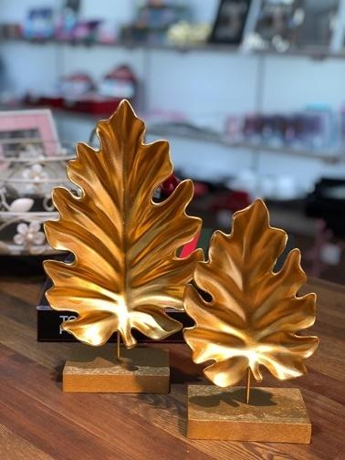 Kokosh Dekoratif Amazon Obje Altın 2 Li Altın